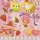 Q-Lia Bear Cake Sweets Mini Memo Pad