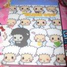 Kamio White and Black Sheep Mini Memo Pad
