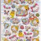Crux Wanko Thief and Bunny Police Sticker Sheet