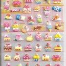 Kamio Patisserie Desserts Shop Puffy Sticker Sheet