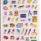Kamio School Supplies Stationery Sticker Sheet