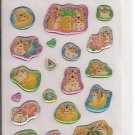 Crux Hamsters and Fruits Sticker Sheet