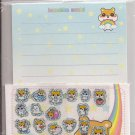Lemon Co. Hamukko Hamsters World Rainbow Mini Letter Set