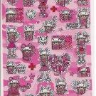 Q-LIa Cutie Punk Girls Sticker Sheet