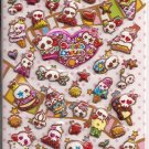 Crux Sweets Dokuro Puffy Sparkly Sticker Sheet