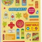Kamio Sweet World Sticker Sheet
