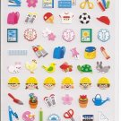 Kamio School Icons Sticker Sheet