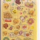 Crux Natto Chan Glittery Sticker Sheet