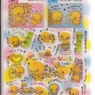 Crux Natto Chan Fun and Comics Sticker Sheet