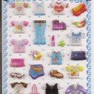 Korean Shirts and Skirts Mini Sticker Sheet