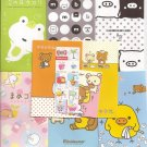 San-X Rilakkuma Bear, Monokuro Boo, and Mamegoma Envelopes Set