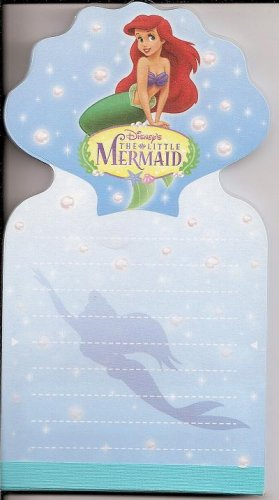 Sun Star Disney The Little Mermaid Diecut Long Memo Pad