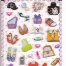 Korean Shoes, Bags, and Accessories Mini Sticker Sheet
