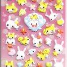 Crux Fuwa Fuwa Rabichan Puffy Sticker Sheet