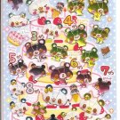 Crux Colorful Bears Birthday Sticker Sheet
