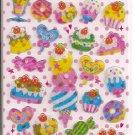 Kamio Desserts Hard Epoxy Sticker Sheet
