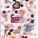 Crux Cute Power Girl Sticker Sheet