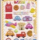 Korean Toys Mini Sticker Sheet