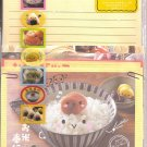 Q-Lia Cute Food with Faces Letter Set