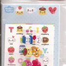 Q-Lia Tiny Cafe Mini Letter Set