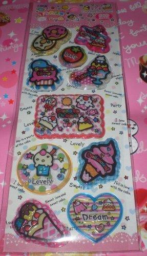 Crux Sweets Dream 3D Shakers Sticker Sheet
