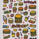 Mind Wave Junk Burger Sticker Sheet
