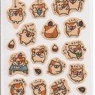 Kamio Hamsters School Sticker Sheet
