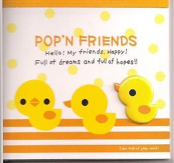 Kamio Pop'N Friends Ducks Mini Memo Pad