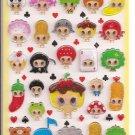 Q-Lia Baby Infinite Hard Epoxy Sticker Sheet