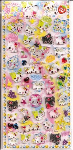 Crux Nyan Jewels Hard Epoxy Sticker Sheet