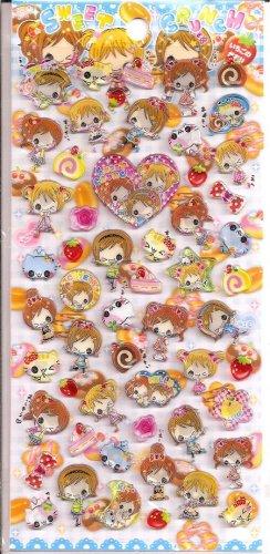 Crux Sweet Crunch Hard Epoxy Sticker Sheet