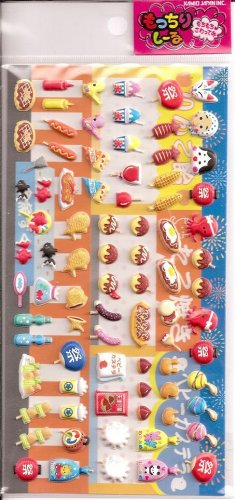 Kamio Japanese Festival Puffy Sticker Sheet