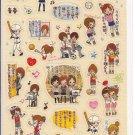 Kamio Tomo Friends Sports Sticker Sheet