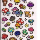 Crux Squirrels and Mushrooms Sparkly Sticker Sheet
