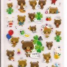 Kamio Happy Memorial Sky Sticker Sheet with Silver Accents