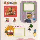 Japanese Anime Show Sticker Sheet