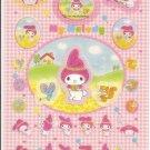 Sanrio My Melody Pink Sticker Sheet