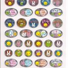 Point Inc. Animals and Phrases Sticker Sheet