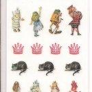 Sun More The Macmillan Alice in Wonderland Alice, Twiddle Dee and Twiddle Dum Sticker Sheet