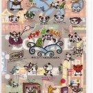 San-X Pandas Sticker Sheet #6