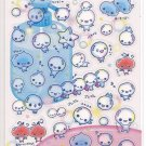 Kamio Awa Awa Chan Water Bubbles Sticker Sheet