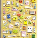 Kamio Memo San Stationery Puffy Sticker Sheet