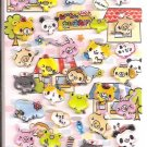 Crux Animal Shops Market 3D Hard Epoxy Sticker Sheet
