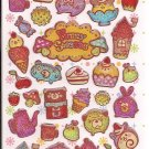 Crux Funny Sweets Sparkly Sticker Sheet
