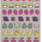 Mind Wave Fruits with Faces Sticker Sheet