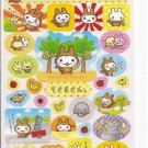 Media Factory Usaru Bunny in Monkey Costume Sticker Sheet