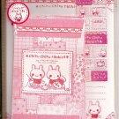 Q-Lia Chiku Chiku Rabbits Letter Set