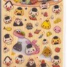 Q-Lia Sushi Friends Sticker Sheet