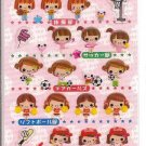Crux Hi!School Girl Club Sparkly Sticker Sheet