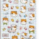 Q-Lia Hospital Hamsters Sticker Sheet